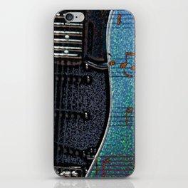 GUITAR BLUES iPhone Skin
