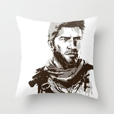 Uncharted 3 Throw Pillow