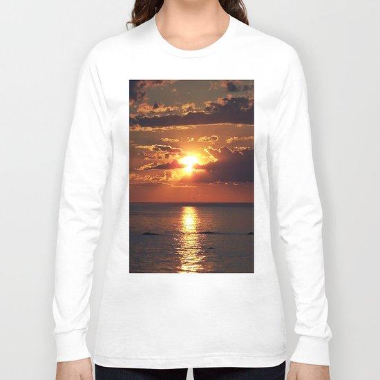 Nature's Beauty Unleashed Long Sleeve T-shirt