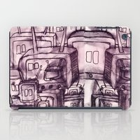 cartoons iPad Cases featuring Saturday Morning Cartoons 2: TV Print by Kayleigh Morin