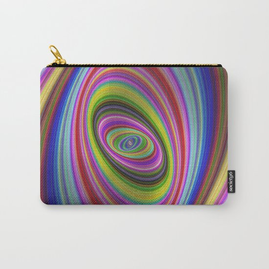 Colorful hypnosis Carry-All Pouch