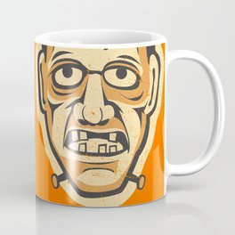 Vintage Halloween Frankenstein Monster Coffee Mug