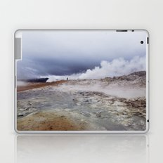 Man on the moon, Iceland Laptop & iPad Skin