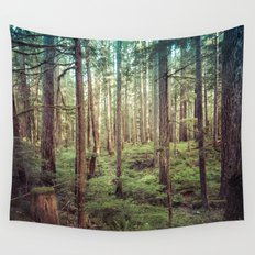 Forest Trees - Outdoor Adventure Wall Tapestry