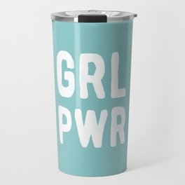 GRL PWR (Blue) Travel Mug