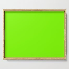 color chartreuse Serving Tray