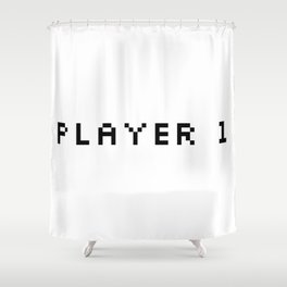 Player One Shower Curtain