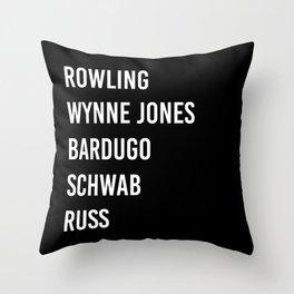 WOMEN OF FANTASY Throw Pillow