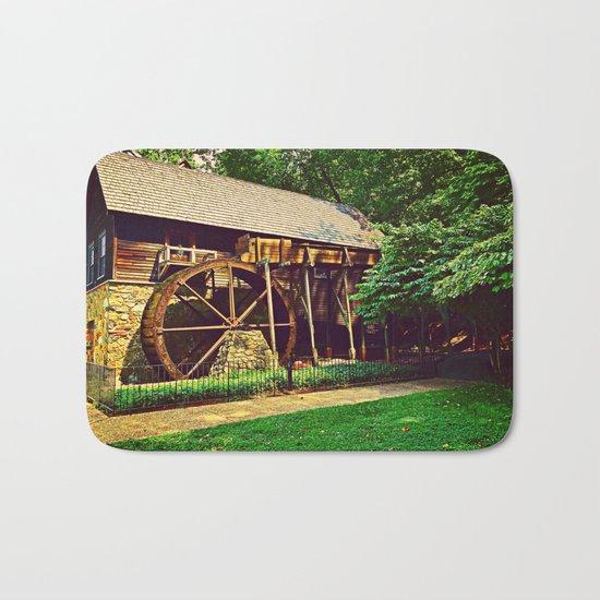 Gristmill - Charlottesville, Virginia Bath Mat