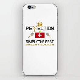 Rger Federer Perfection iPhone Skin