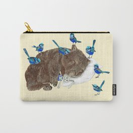 Wrens Wombat sleep Carry-All Pouch