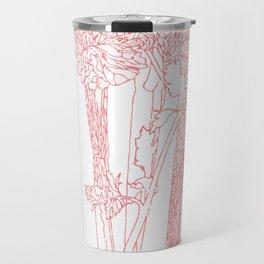 Celery Outline Travel Mug