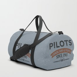 Pilot Proud Aviation Lover Gift Idea Duffle Bag