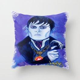 Barnabas Collins - Johnny Depp Throw Pillow