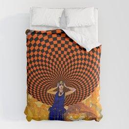 Confusion by Michael Moffa Comforters