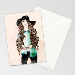 Boho Chic Stationery Cards