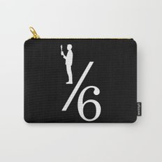 One Sixth Ism (White Logo) Carry-All Pouch