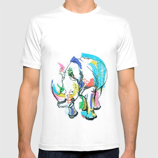 Rhino colour T-shirt