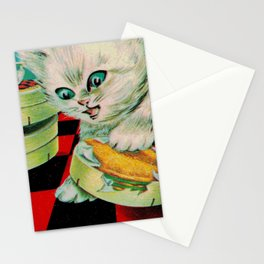 Kitty & French Cheese Stationery Cards