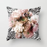 romance Throw Pillows featuring Romance by Sabimage