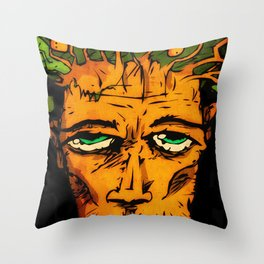 Tree Dude (Feat. daworm) Throw Pillow
