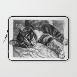 Resting Kitty G064 Laptop Sleeve