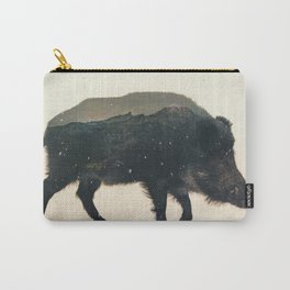 Veluwe: Wild Boar Carry-All Pouch