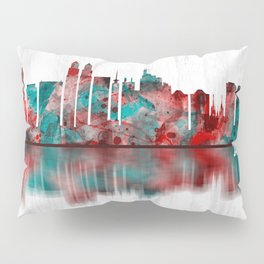 Jakarta Indonesia Skyline Pillow Sham