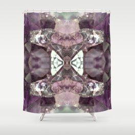 Amethyst 2 Shower Curtain