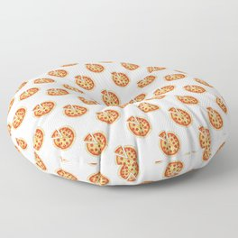 Back to basic pepperoni pizza Floor Pillow