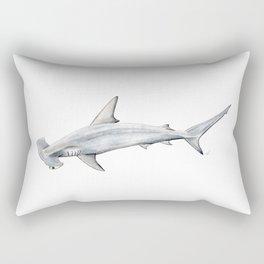 Hammerhead shark for shark lovers, divers and fishermen Rectangular Pillow