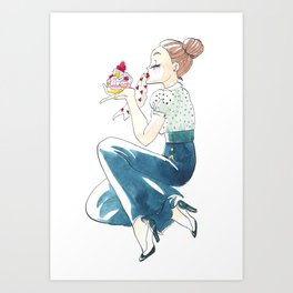 Yummy Art Print