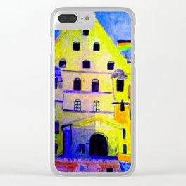 Historisches Gebäude Burg Trausnitz Landshut Clear iPhone Case