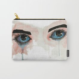 Painted eyes Carry-All Pouch