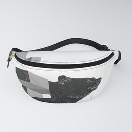 bear_deconstructed Fanny Pack