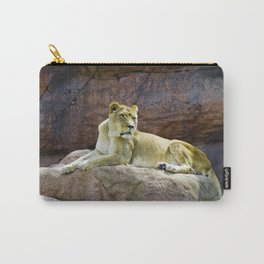 Lioness at the Toronto Zoo Carry-All Pouch
