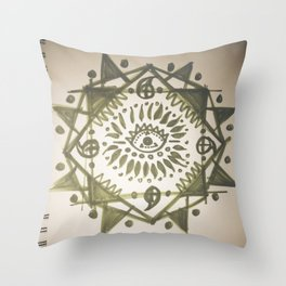 """""""Love is Growing""""  Throw Pillow"""