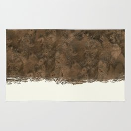 Dipped Wood - Walnut Burl Rug