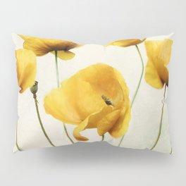 Yellow Poppies Pillow Sham