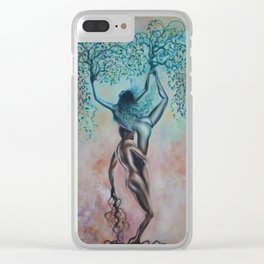 Symbiotic Synapses Clear iPhone Case