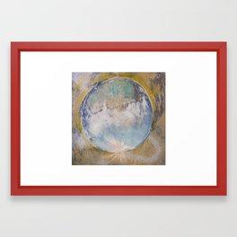 Adrian's World  Framed Art Print