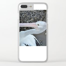 The Pelican from Oz Clear iPhone Case