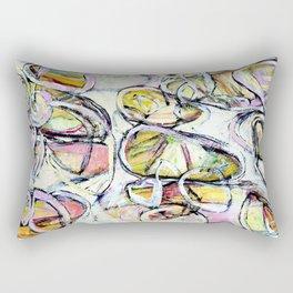 'colorful circle brittmarks' Rectangular Pillow