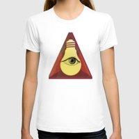 "illuminati T-shirts featuring ""Illuminati"" bulb by Oh! My darlink"