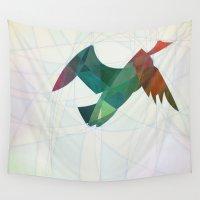 flight Wall Tapestries featuring Flight by Justin Morris