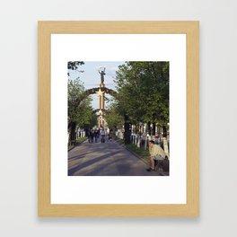 WW II Rememberance Framed Art Print