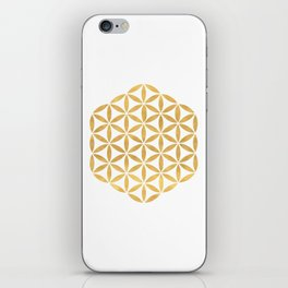 FLOWER OF LIFE sacred geometry iPhone Skin