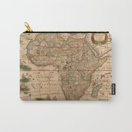 Map Of Africa 1641 Carry-All Pouch