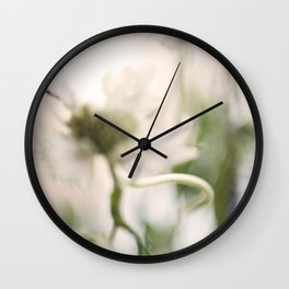 Thistle and Weed Wall Clock