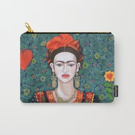 Frida, queen of Hearts Carry-All Pouch